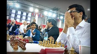 """""""We needed one or two more favourable pairings"""" - Vishy Anand on Batumi Olympiad 2018"""