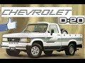 Chevrolet D-20 - Evolução e Fim