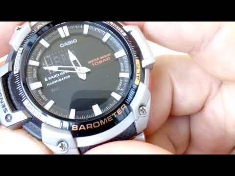 SGW-450HD-1B CASIO БАРОМЕТР
