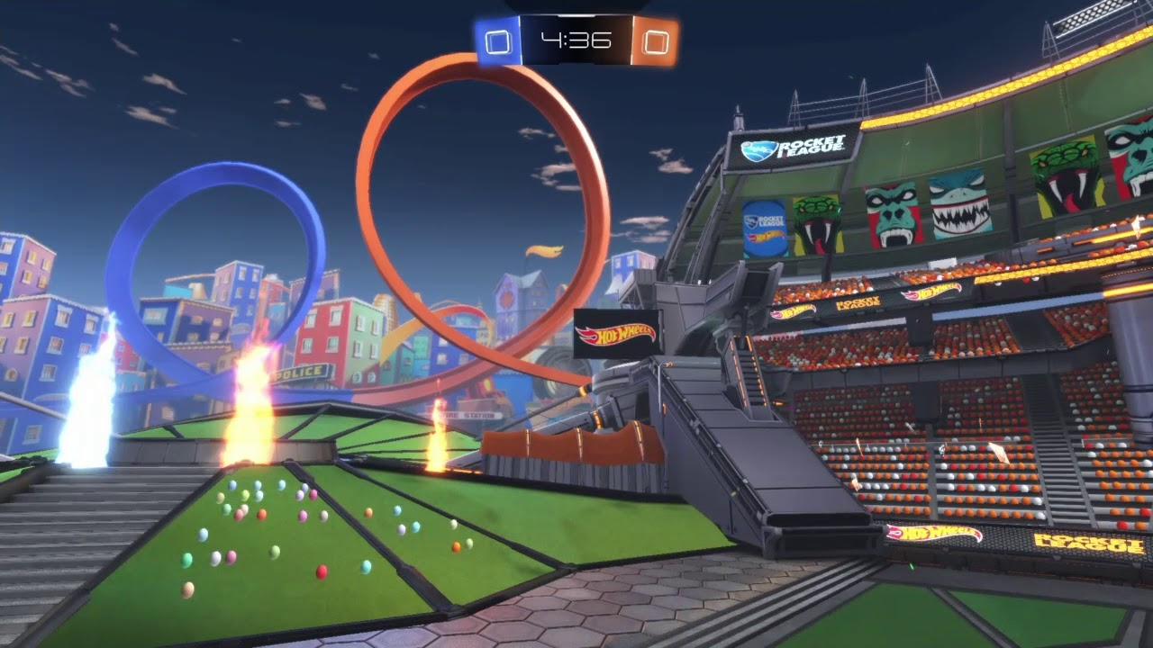 Taking A Closer Look At The NEW Rivals Arena (Rocket League)