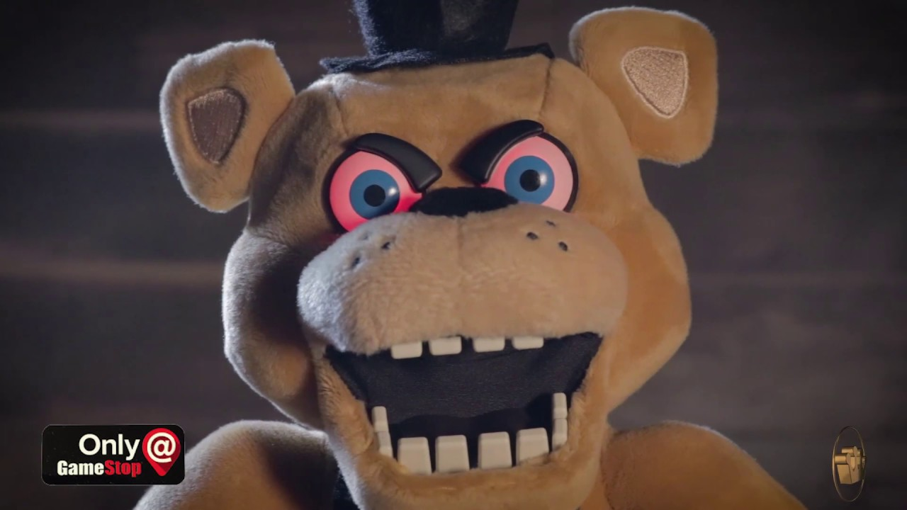 GameStop Exclusive Animatronic Five Nights at Freddy's Plush!