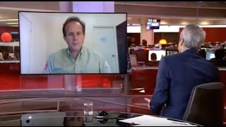James Cowan on BBC News