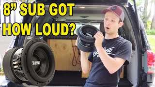 How Loud Can a HUGE 8