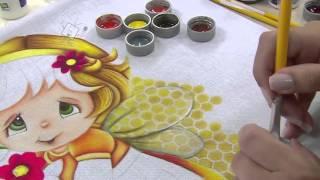 Pintura e patch aplique com Eliana Rolim e Marcia Caires