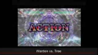 ARK II - BlazBlue: Continuum Shift - Tree vs. Warden