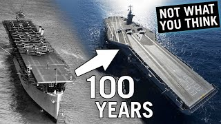 Evolution of American Aircraft Carriers