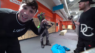 SNEAKING INTO UK'S BIGGEST INDOOR SKI SLOPE! OVERNIGHT CHALLENGE