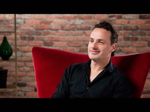 : Andrew Lincoln on narrating the Quidditch Through the Ages book