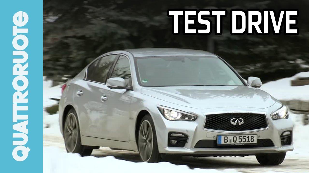 Infiniti q50 hybrid sport awd 2015 test drive