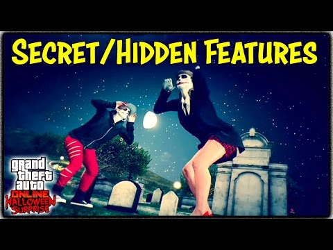 "GTA 5 Online ""HALLOWEEN SURPRISE"" DLC SECRET / HIDDEN FEATURES! (Organ Horn, Yacht Freemode & More)"