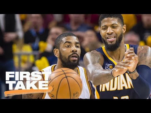 Should Pacers Have Traded Paul George For Kyrie Irving? | First Take | ESPN