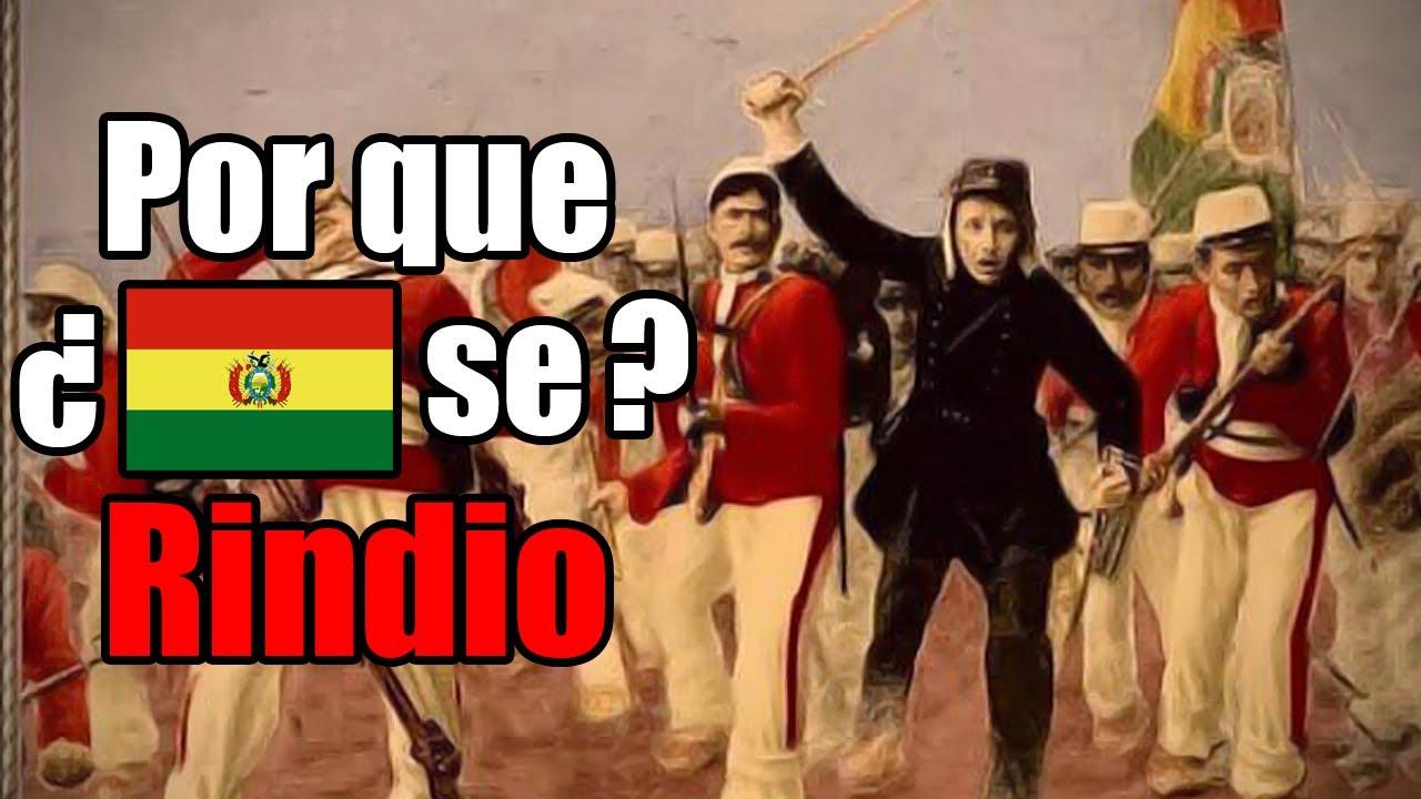 ¿Por que Bolivia se retiró de la Guerra del Pacífico y dejó solo a Perú?