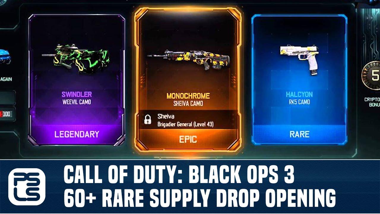 rare supply drop