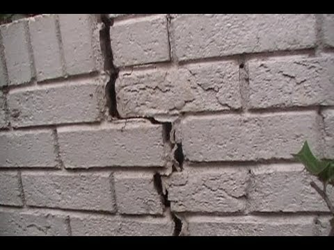 Exterior Waterproofing What Causes Stress Cracks Youtube