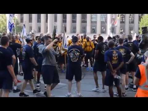 Navy Chief Petty Officer & Selectee Washington D.C. Monument Run 2016