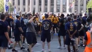 Navy Chief Petty Officer & Selectee Washington D.C. Monument Run 2016