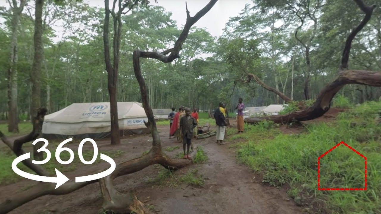 """360 Video: """"They've Really Lost Everything"""" Burundian Refugees in Tanzania"""