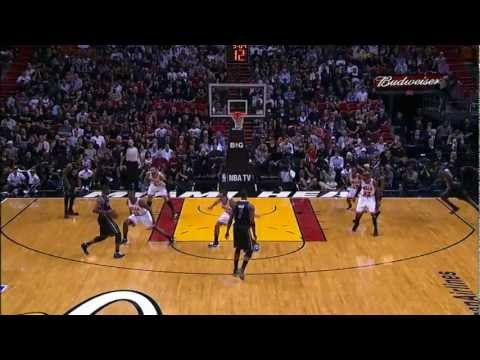 Every Angle of LeBron Jumping Over John Lucas