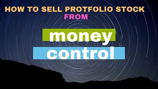 HOW TO REMOVE OR SELL PORTFOLIO ON MONEY CONTROL screenshot 5