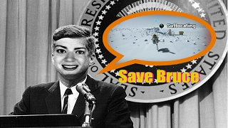 We choose to save Bruce. Funhaus Astroneer/JFK edit