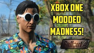 Fallout 4 XBOX MODDED MADNESS! New Xbox One Mods & Funny Moments!