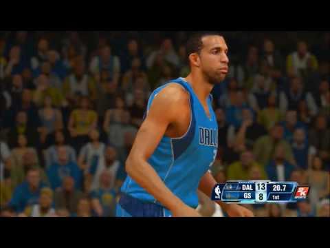 PS4 NBA 2K14: Mavericks vs. Warriors [HD]