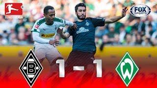 Borussia Mönchengladbach - Werder Bremen [1-1] | GOLES | Jornada 28 | Bundesliga