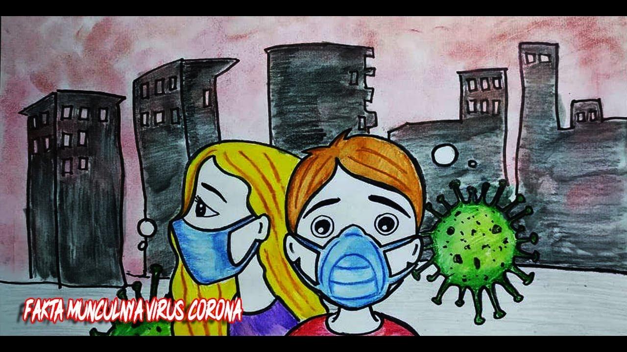 Cerita Dibalik Asal-Usul Munculnya Virus Corona - Cerita Bergambar - AuroraLetsDraw
