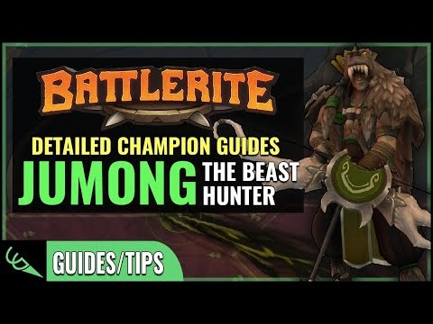Jumong Guide - Detailed Champion Guides | Battlerite (Early Access)