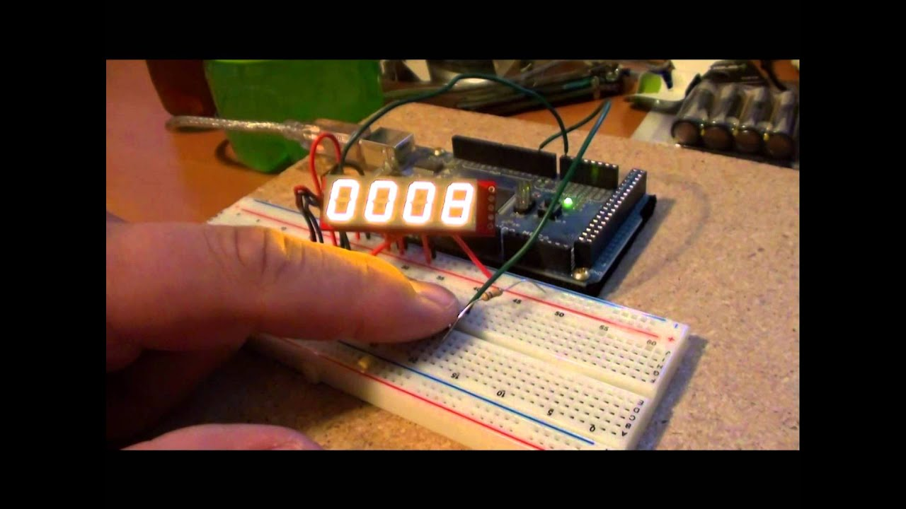 How to Access 5 Buttons Through 1 Arduino Input: 8