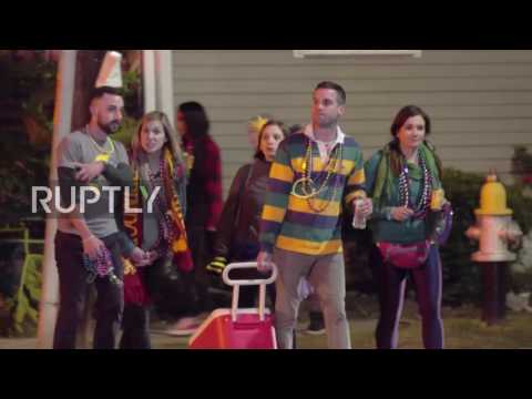 USA: 28 injured as suspected drunk-driver slams into New Orleans parade