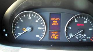 Sprinter van warning light comes on in your Mercedes Benz cargo bus or passenger wagon