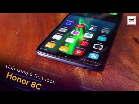 Honor 8C unboxing & First look: Big battery and nice design!