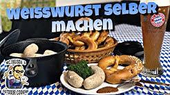 #144  - MC.ELLISDA WURSTET: Bayrische Weißwurst selber machen (ohne Kutter)