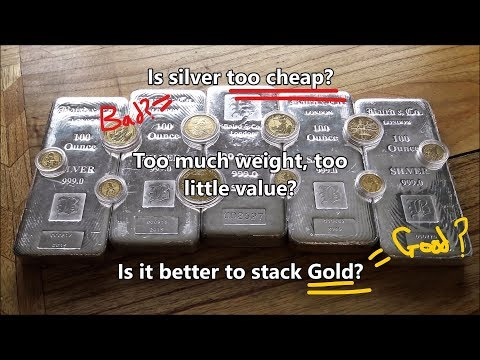 Is Silver too cheap to be taken seriously compared to Gold?