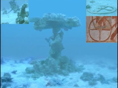 Chariot Wheels At Bottom Of Red Sea - YouTube