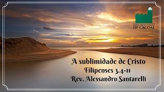 A sublimidade de Cristo