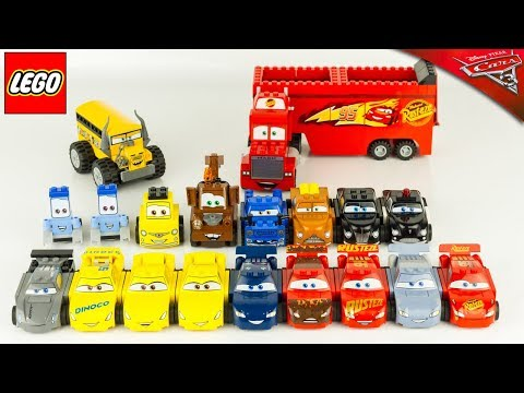 LEGO Juniors CARS 3 Collection Complète Véhicules Jouet Toy ReviewFabulous Flash McQueen