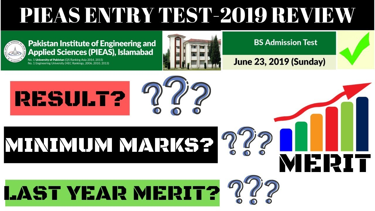 BE READY FOR HIGH PIEAS MERIT -2019, RESULT ANNOUNCEMENT, LAST YEAR MERIT,  MINIMUM MARKS REQUIRED