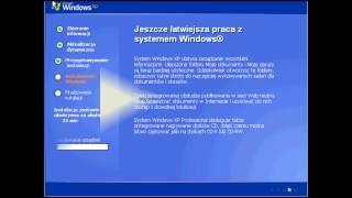 Szybka instalacja Windows XP SP3 - tutorial