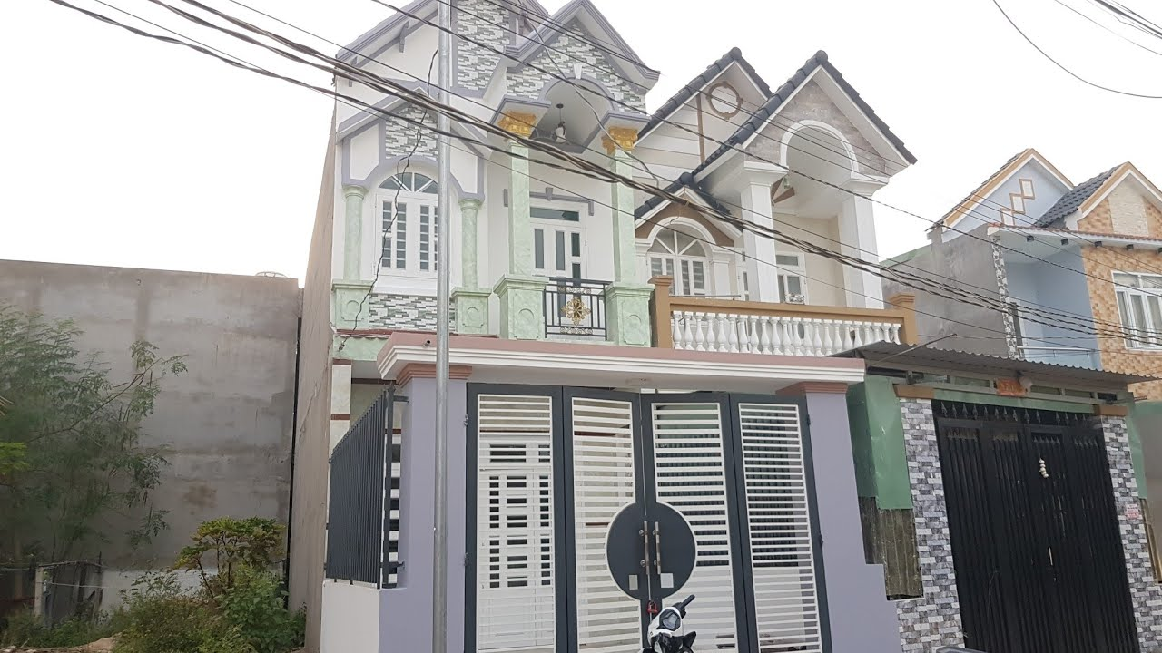 Bán Nhà Lầu Bình Dương sổ riêng giá rẻ Dt 100m2 tại tân phước khánh Bình Chuẩn Thuận An Thủ dầu một
