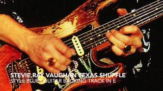 Stevie Ray Vaughan Style Texas Shuffle Blues Backing Track