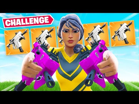 BURST SMG ONLY Challenge (Bad Idea)