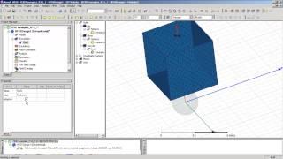Видеоурок CADFEM VL1214 - Использование ANSYS HFSS для задач рассеяния электромагнитных волн ч.2.1
