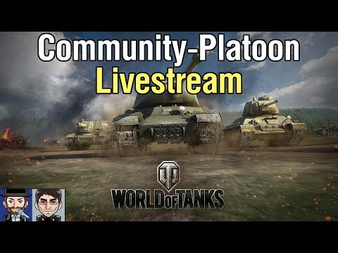 World of Tanks | Der Zuschauer-Platoon-Livestream