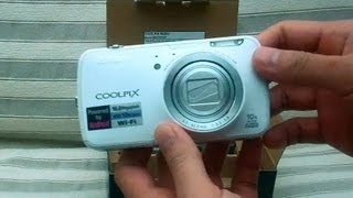 hD Nikon Coolpix S800c Android Camera Unboxing Video