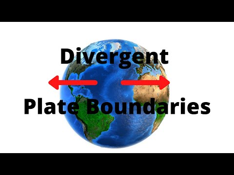 Two types of Divergent Plate Boundaries