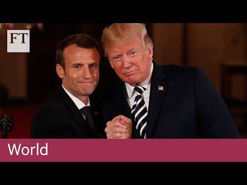 Macron and Trump seek common ground on Syria