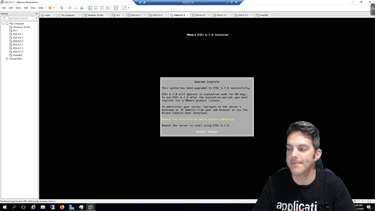 Download VMware - The Basics 014 - Upgrading ESXi 6.5 to ESXi 6.7 with the ISO