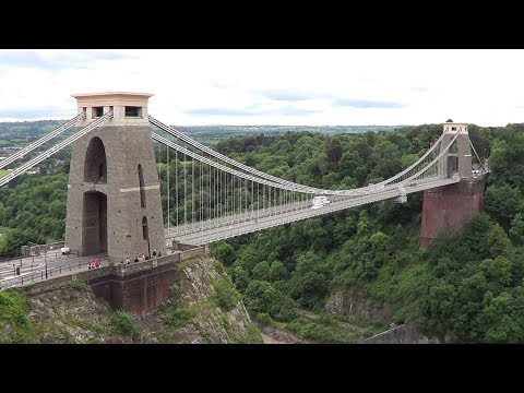 The Solitary Rambler 80: Bright Lights of Bristol (Bristol Harbour and Clifton Suspension Bridge)
